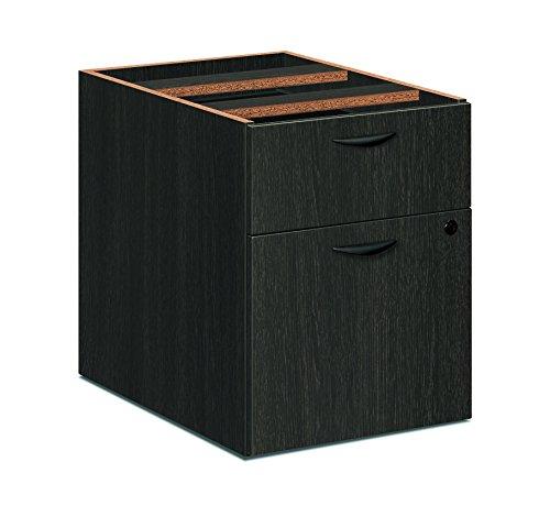 HON bsxbl2164eses Basyx von BL Ständer Datei Schreibtisch, Espresso, 155/20,3cm