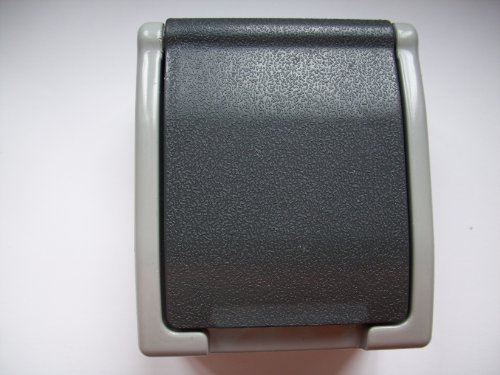 Preisvergleich Produktbild REV Ritter, Steckdose mit Klappdeckel, Kinderschutz, 00562014