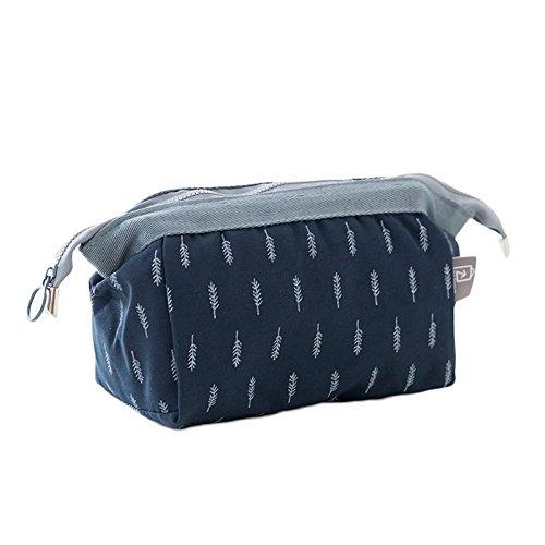 Gespout make up tasche e lavaggio a mano tasche multiuso di abbigliamento valigetta da viaggio portatile di archiviazione pacchetto sacchetto di immagazzinaggio borsa a mano borsa per cosmetici, cotone, 3#, 18*13*9cm