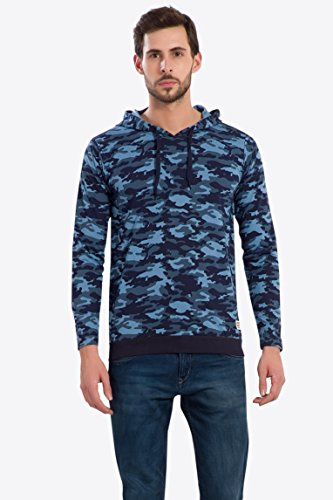 Alan Jones Army Camouflage Men's Hooded T-Shirt