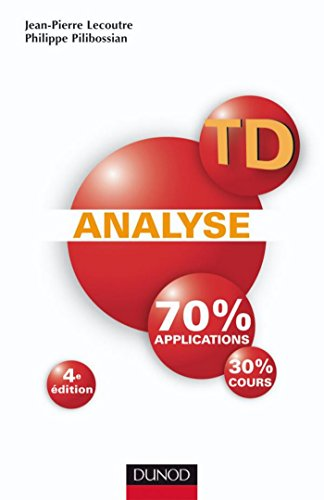 TD Analyse - 4ème édition