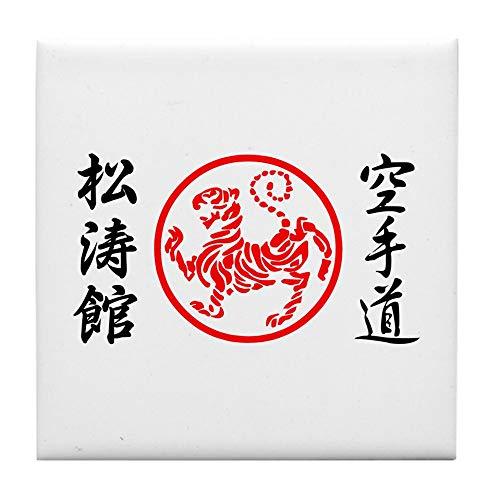 CafePress Shotokan Karate Symbol Fliesenuntersetzer Getränke-Untersetzer klein Untersetzer