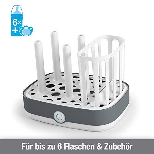 NUK Vario Express Dampf-Sterilisator für bis zu 6 Babyflaschen, Sauger & Zubehör - 3