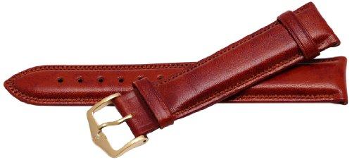 Bernex Ascot Unisex-Armbanduhr mit Lederarmband braun GB42151
