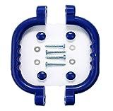 HIKS Set von 2blau Griffe Hand Grips ideal für Klettern Rahmen, Baum Haus, den & Play House (auch erhältlich in grün & gelb)