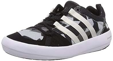 adidas Climacool Boat Lace, Unisex-Kinder Bootsportschuhe, Schwarz (Core Black/Chalk White/Vista Grey S15), 30 EU (11.5 Kinder UK)