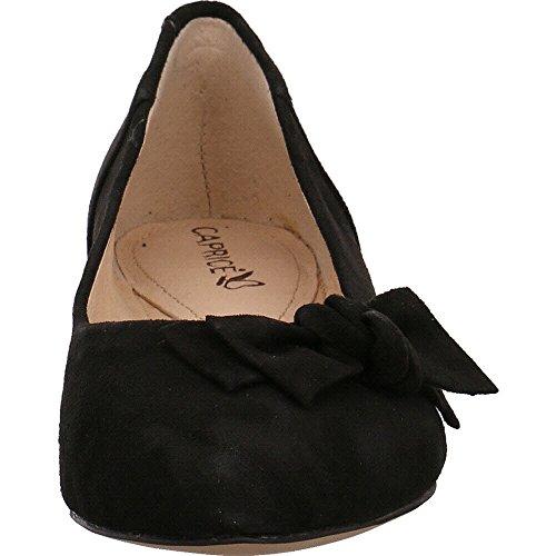 Caprice 22107, Ballerine Donna In camoscio nero