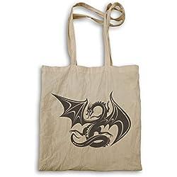 Dragón de fantasía bolso de mano u537r