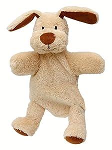 ABA 27cm perro marioneta de mano con patas (Multicolor)