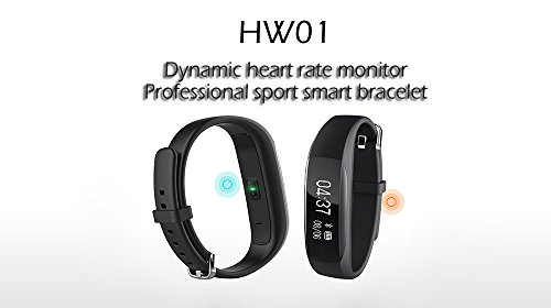 Lenovo HW01 Smart Wristband - Pulsera inteligente- / Heart Rate Monitor / Sleep Manage / Sports Tracking (Negro)