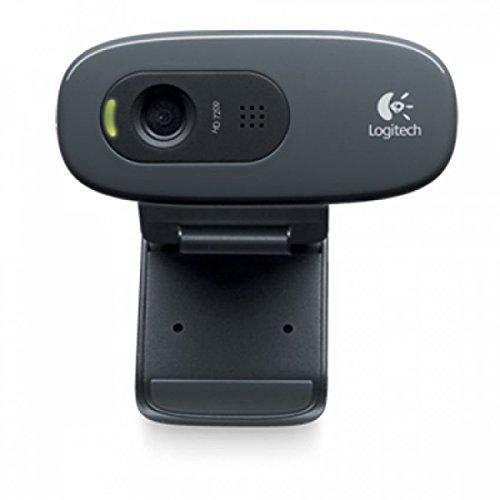 Logitech C270 HD Webcam (Black)