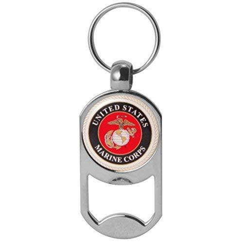 US Marine Corps Crest Dog Tag Flaschenöffner Military Schlüsselanhänger 1-1/20,3cm von 5,1cm -