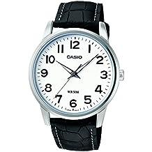 Casio Collection – Herren-Armbanduhr mit Analog-Display und Echtlederarmband – MTP-1303PL-7BVEF