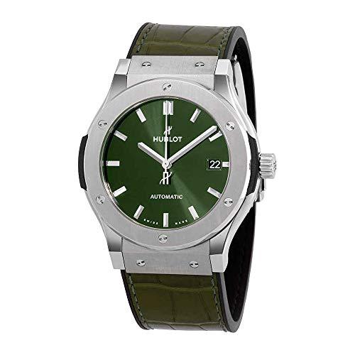 Hublot Classic Fusion verde 45 mm orologio 511.NX.8970.LR