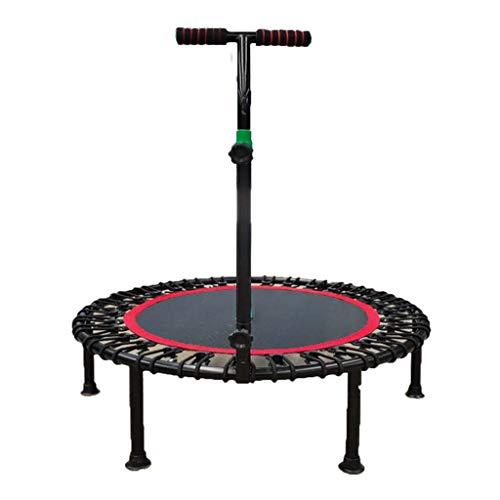 40-Zoll-Minitrampolin Indoor-Fitness-Trampolin Mit Armlehnen Kinder- Und Erwachsenentrampolin Maximale Belastung 150 Kg