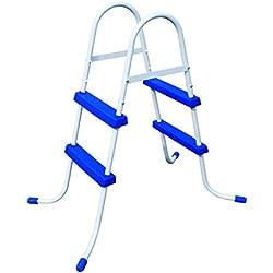 Bestway 8320610 - Escalera piscina altura de 84 cm