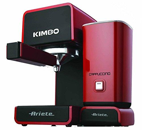 Ariete 1364 Espresso machine 1L 1tazas Negro, Rojo - Cafetera (Independiente, Espresso machine, Negro, Rojo, Botones, Taza, Semi-automática)
