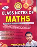 English Medium Rakesh Yadav Sir`s Class Notes Of Maths for All Competitive Exams