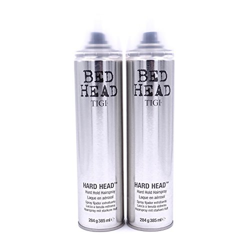 2er Set: TIGI Bed Head Hard Head Haarspray 385 ml