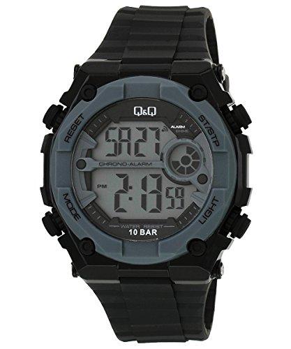 Q&Q Digital Black Dial Men's Watch - M127J003Y