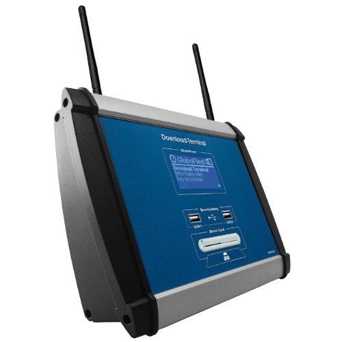 GloboFleet WLAN-DLT-2012 Downloadterminal DLT II WLAN zum Auslesen und Archivieren von Fahrerkarten und Massenspeicherdaten