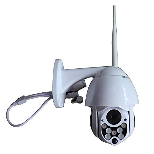 d drehen PTZ-IP-Kamera im Freien 1080P Speed   Dome-Überwachungskameras wasserdichte drahtlose WiFi-Überwachungskamera ()