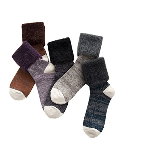 Santwo -  Calze  - Donna Style C(5 Pairs) Taglia unica