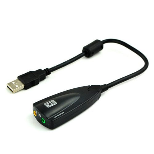 5H V2 USB externe Soundkarte virtuelle 7.1-Surround-Sound (Usb V2 5h)