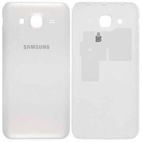 Original Samsung Akkudeckel white / weiß für Samsung J500H Galaxy J5 (Akkufachdeckel, Batterieabdeckung, Rückseite, Back-Cover) - GH98-37588A