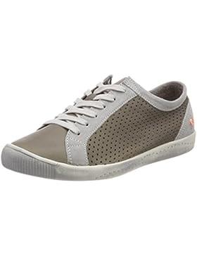 Softinos Damen Ica388sof Smooth/Suede Sneaker