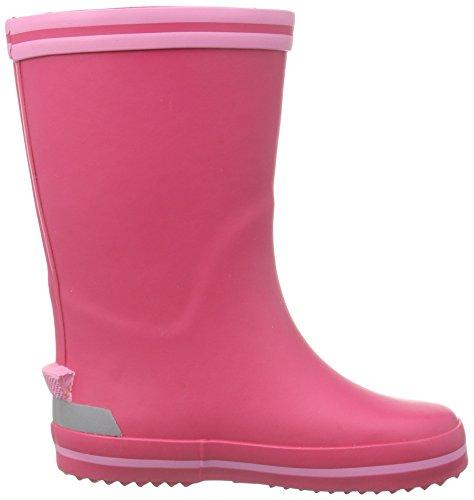 Naturino Naturino Rain Boot., Bottes en caoutchouc de hauteur moyenne, doublure froide fille Rose - Pink (GOMMA FUXIA-ROSA)