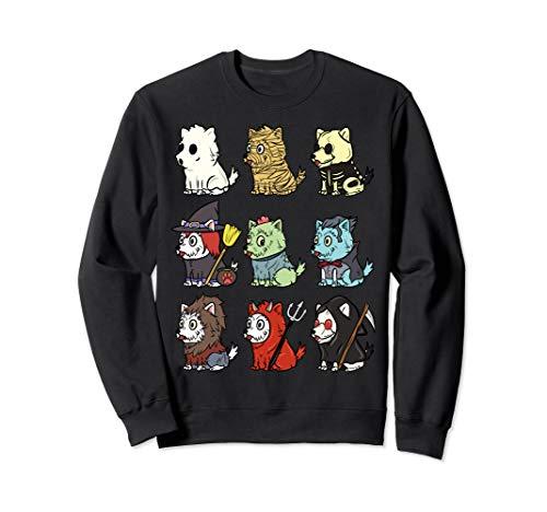 Kostüm Hunde Westies Für - Westie Gruselige Kostüme Lustiger Hund Halloween Geschenk  Sweatshirt