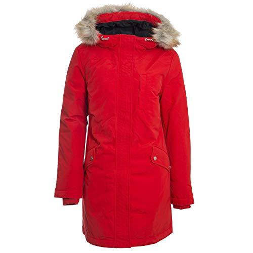 Tommy Jeans Damen TJW Technical DOWN Parka Jacke, Rot (RED XA8), (Herstellergröße:M)