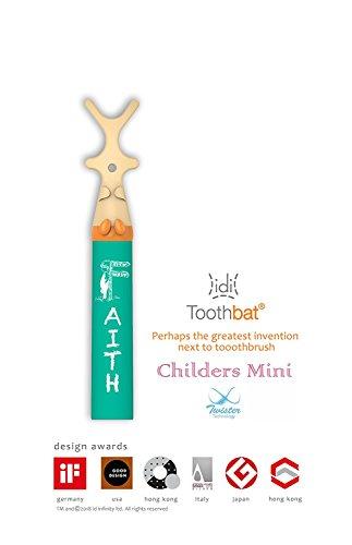 toothbat Kinder Zahnseide-halter für die perfekte Mund-reinigung und Zahn-reinigung, Interdental-reinigung, professionelle Mund-hygiene