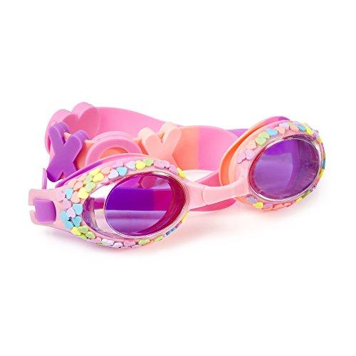Bling2O Gafas de Natación para Las Niñas–de Corazones Niños Gafas de Natación CANHT8PINK, Rosado