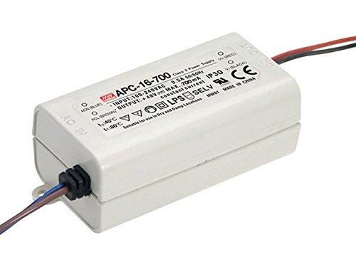 Mean Well APC-16-700 LED-Konstantstrom-Treiber-1 Ausgang-700 Ma-16 W, 16.8 W