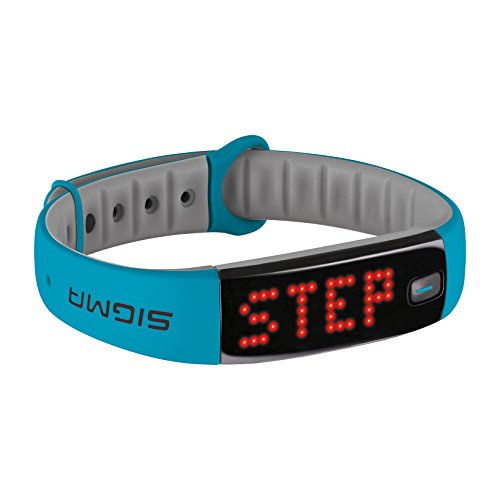 Sigma Activity Tracker ACTIVO, sky blue, 22911 (Blue Sky Snake)