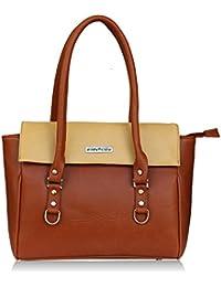 Fantosy Tan And Beige Women Shoulder Bag (FNB-726) (Tan And Beige)
