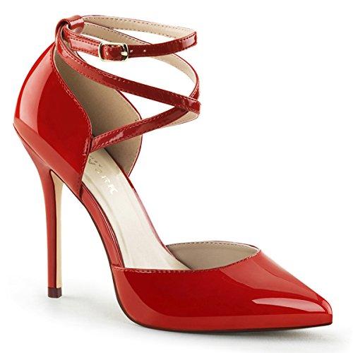 Heels-Perfect, Scarpe col tacco donna Rosso (Rosso (Rosso))