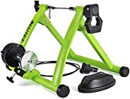 Cycling Training Roller, Foldable Indoor Exercise Bike Trainer 6 Level Wired Control Magnetic Resistance Road Cycling Roller