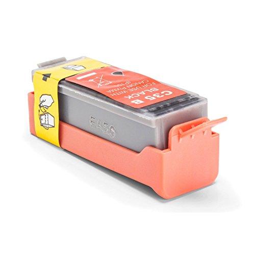 Inkadoo Tinte passend für Canon Pixma IP 110 kompatibel zu Canon GZ-1144BK/PGI-35 BK, PGI35, PGI35BK 1509B001 - Premium Drucker-Patrone Alternativ - Schwarz - 200 Seiten - 9 ml - Canon-drucker-batterie