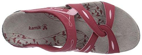 Kamik Sandbanks, Chaussures de Claquettes femme Rouge - Rouge