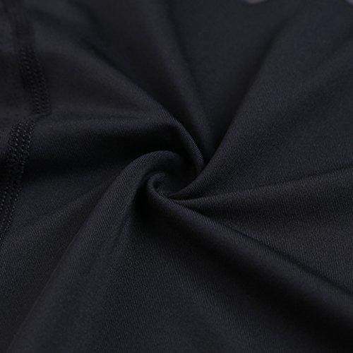 Jiayiqi Herren Buchstaben Gedrucktes Kühles T-Shirt Heißes Verkaufs Langes Dehnbares Hemd T-shirt L-2XL Schwarz