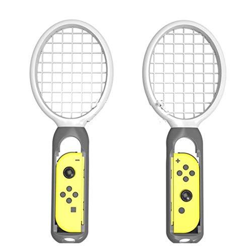 SHUNYUS Tennisschlägerhülle Tennisschlägeretui Tennisschlägerhalter Controller Konsolen Schläger Overgrip 2 Stück Abs Für Mario Tennis Aces Spiel