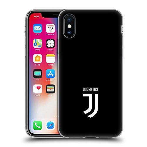 Head case designs ufficiale juventus football club banale lifestyle 2 cover morbida in gel per iphone x/iphone xs
