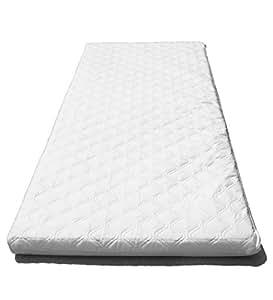 SUZY Microfibre Hypoallergenic Crib Mattress 84 x 36 x 4cm Thick (Square Corners)