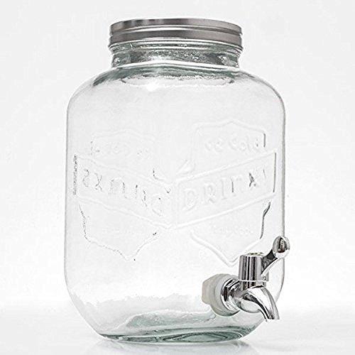 Out of the Blue 78/7851dispensador de bebidas, cristal, transparente, 18.6x 29x 18.6cm