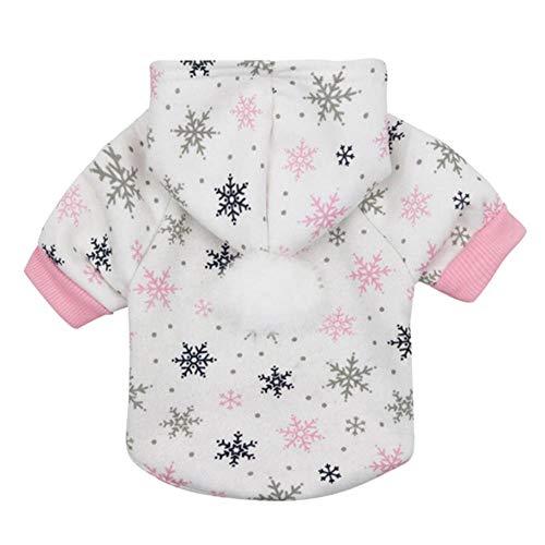 NiQiShangMao 2019 Hot Christmas Dog Kleidung Winte Coat Kleidung Santa Kostüm Haustier Weihnachten Kleidung Cute Puppy - Cute Christmas Santa Kostüm