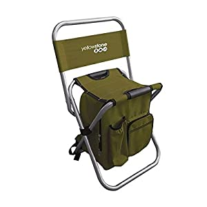 Yellowstone Unisex Fishing Chair, Green, Medium by Yellowstone