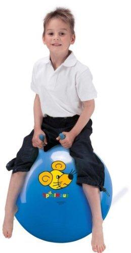 Spielmaus Outdoor Baby-Sprungball blau,ca.35 cm rot blau gelb sortiert